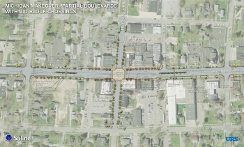 MDOT Mich Ave Makeover Map
