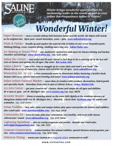 VisitSaline - Winter Ideas 2016